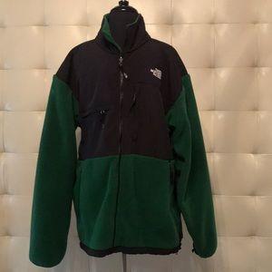 Men's North Face multi-zippered zip front jacket
